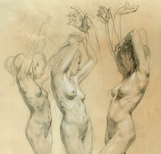 Life Figure Drawing Styles