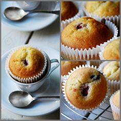 CHEZ SILVIA: Muffins de frambuesas