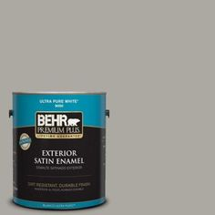 BEHR Premium Plus 1-gal. #S-H-200 New Brick Semi-Gloss Enamel ...