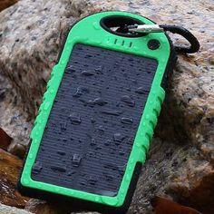 Carregador solar a prova d'agua portatil para celular,tablet Univesal