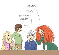 3. The Big Four joking about Jack's ears. lol