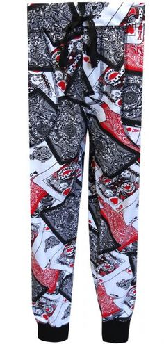 Playing Cards Jogger Lounge Pants