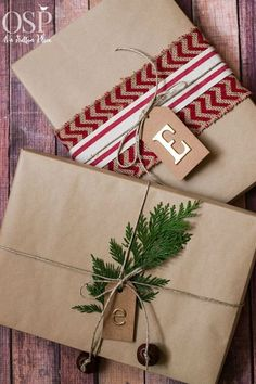 Christmas Gift Wrapping Ideas – On Sutton Place - Geschenke Christmas Crafts To Make, Christmas Gift Wrapping, Simple Christmas, All Things Christmas, Winter Christmas, Holiday Gifts, Christmas Holidays, Christmas Gifts, Christmas Decorations