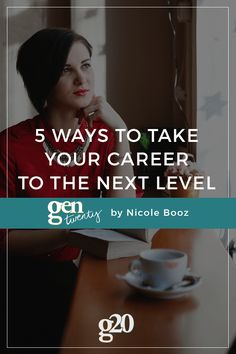 For when you're feeling a little stuck career-wise, here are 5 ways you can up your game and get to the next level.