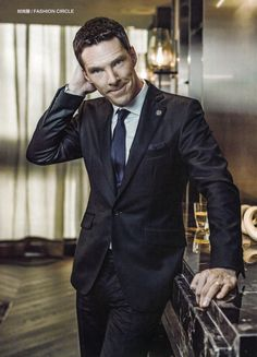 OH MY GOD!Benedict Cumberbatch - Esquire Magazine May, 2015