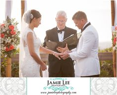 8th Avenue South | Naples Wedding Photographer | Jamie Lee Photography | Outdoor Beach Ceremony | Bride and Groom Exchanging Wedding Bands