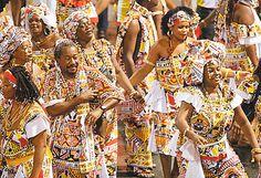 CORREIO   O QUE A BAHIA QUER SABER: Ilê Aiyê: conheça uma das fundadoras que cuida de perto das fantasias do bloco afro