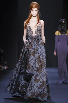Badgley Mischka Ready To Wear Fall Winter 2015 New York - NOWFASHION