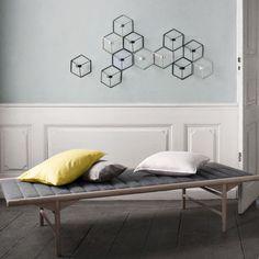 Muster und Geometrie: POV Wand Kerzenhalter von Menu | online kaufen im stilwerk shop | ab € 40,-