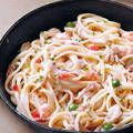 Crab and Shrimp Linguine with White Sauce | Recipes | Yummy.ph - the online source for easy Filipino recipes, and more!