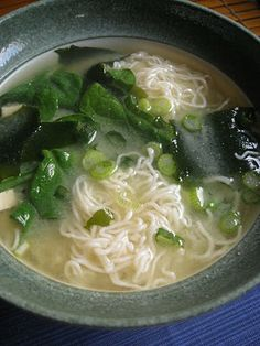 Miso Soup - vegan