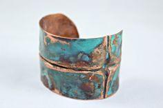 Copper Foldformed Bracelet - Cheri Tatum