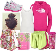 Class at 8:00AM, created by qtpiekelso on Polyvore