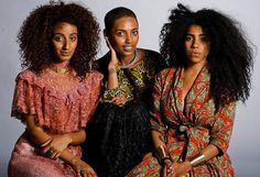 Sen Ali, Sonnie Daze and Armina Mussa (http://brownskinbombshell.blogspot.com/2012/11/sen-ali-sonnie-daze-armina-mussa.html)