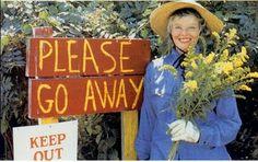 Katharine Hepburn - Cheerfully anti-social