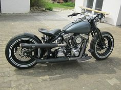 Harley-Bobber Softail - Cheap-ASS-Bobber Umbauten
