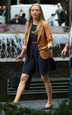 Amanda Seyfried Photos: Amanda Seyfried & Mark Wahlberg Film 'Ted 2' In NYC