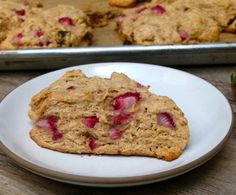 whole grain strawberry scones | pamela salzman