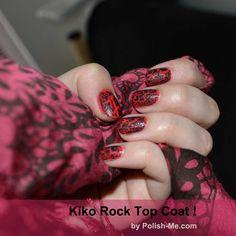 Kiko Rock Top Coat Noir