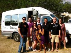 "Come tour with us - it's a lot of fun.... Phone: 830-997-TOUR Toll Free: 877-TEX-WINE mailto:tour@texas...    Another great customer review ""Celebrating our 21st anniversary""  Reviewed October 28, 2012  Bill picked us up at our B in the extremely nice limo bus for a full day of vineyard wine tasting tours."
