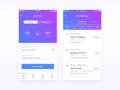 Booking App Concept
