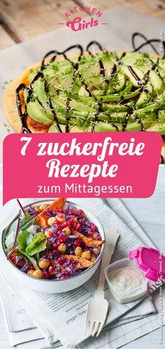 7 sugar-free recipes for lunch - Zuckerfreie Rezepte - Greek Recipes Mousaka Recipe, Clean Eating, Healthy Eating, Healthy Food, Lunch Recipes, Healthy Recipes, Passionfruit Recipes, Moussaka, Sugar Free Recipes