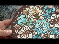 Assim Fica Fácil – 08/02/2017 – Pintura em MDF com stencil | RS21