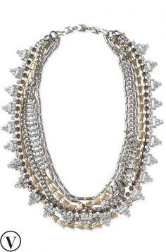 Sutton Necklace Mixed Metal  favorite necklace!