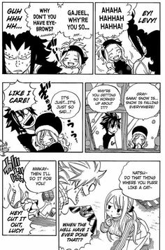 Gajeel x Levy, Gray x Juvia, and Natsu x Lucy. It's official guys, haha Fairy Tail