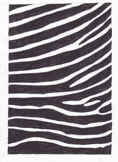 How to Draw Zebra Stripes: 7 steps (with pictures) - wikiHow  - top of music room table
