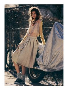 urban chic: sona matufkova by sigurd grunberger for eurowoman june 2013 | visual optimism; fashion editorials, shows, campaigns & more!