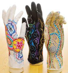 Mehndi Gloves