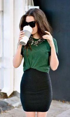 65 melhores imagens de roupas   Elegant dresses, Fashion dresses e ... 821437cfcaea