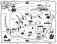 Shakespear's The Tempest Graphical Map@Malia Thompson