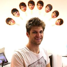 Keegan is so cute! We love this picture of Keegan at the ABC Family office! | Pretty Little Liars