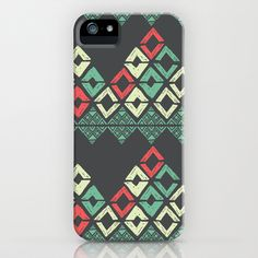 Chevron Hills iPhone Case by Barbra Ignatiev - $35.00