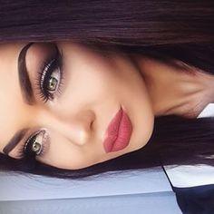 gorgeous makeup looks natural Flawless Makeup, Gorgeous Makeup, Pretty Makeup, Love Makeup, Makeup Inspo, Makeup Inspiration, Kiss Makeup, Glam Makeup, Hair Makeup