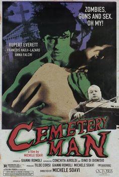 Cemetary Man movie poster