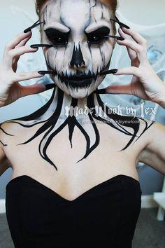 MadeUlook by Lex Skeleton Makeup