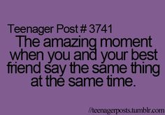 All the time