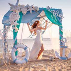 Original marine-themed wedding decorations – Diy World Beach Wedding Reception, Beach Wedding Decorations, Beach Wedding Favors, Nautical Wedding, Sea Wedding Theme, Aqua Beach Weddings, Wedding Weekend, Wedding Ceremony, Ocean Themes