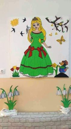 Fish Crafts, Diy And Crafts, Spring Crafts, Classroom Decor, Activities For Kids, Backdrops, Disney Characters, Fictional Characters, Aurora Sleeping Beauty