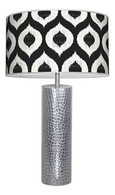 Oscar Table Lamp in Multiple Patterns and Colors