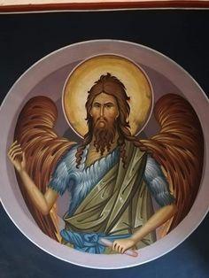 Religious Icons, Religious Art, Church Icon, Byzantine Icons, John The Baptist, Orthodox Icons, Christian Art, Sandro, Christianity