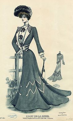 Walking suit 1904