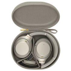Sony trådløse around-ear hodetelefoner (sølv) - Hodetelefoner - Elkjøp Over Ear Headphones, Products, Beauty Products