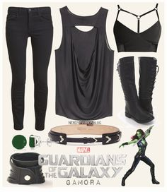 Gamora | Guardians of the Galaxy | Marvel by chelsealauren10