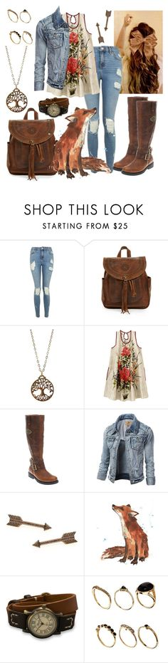 """""""Untitled #1017"""" by roses-are-red1029 ❤ liked on Polyvore featuring Topshop, Patricia Nash, Jami, Harley-Davidson, House of Harlow 1960, BillyTheTree and ASOS"""