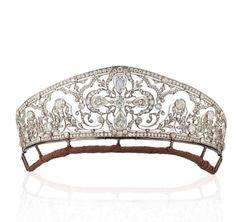 Diamond Tiara - Princess Esperanza of Orléans Bragance - Christie's London june 2018