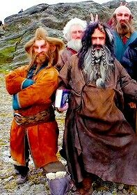 Nori, Balin, Bifur, and Dwalin